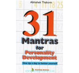 31 mantra for personality development (english)