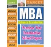 MBA-Previous Year Exam.Solved Papers ( english book)