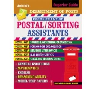 POSTAL/SORTING ASSISTANTS