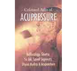 Coloured Atlas of Acupressure-B.Jain